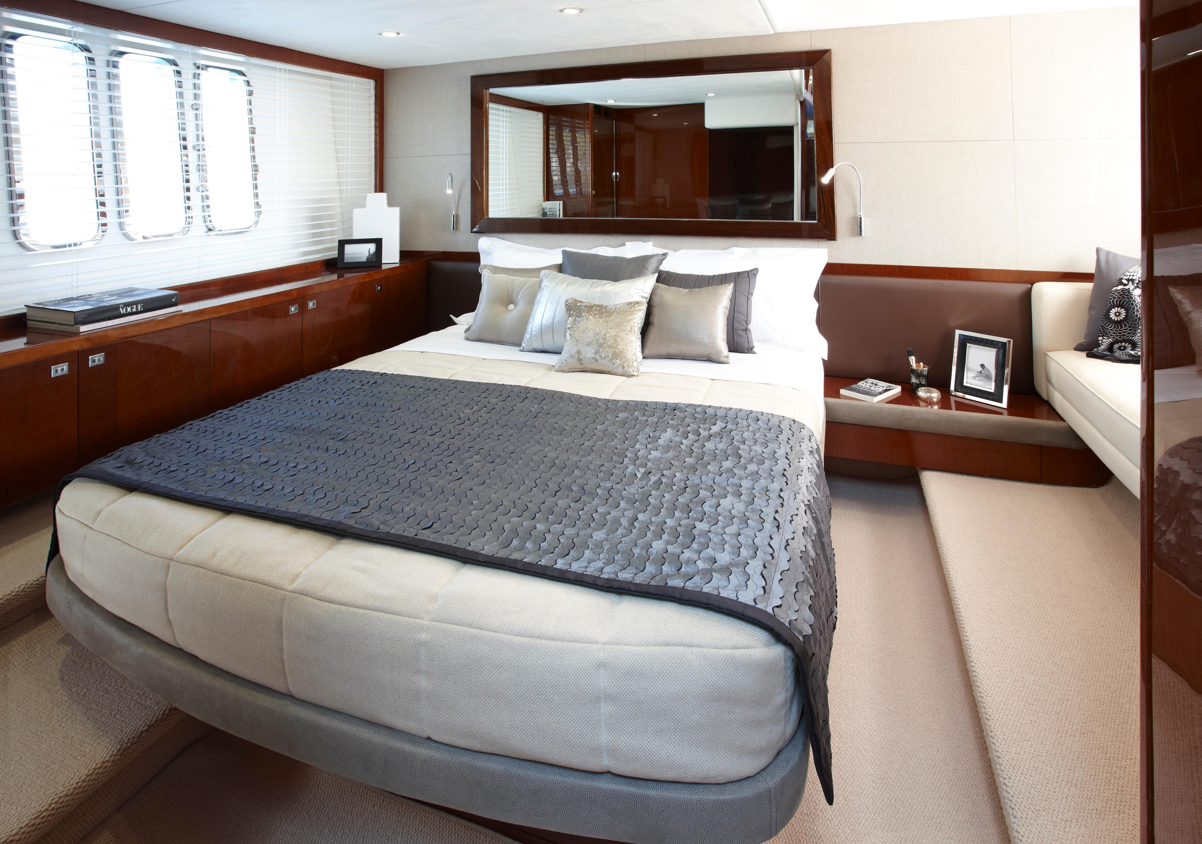 Manufacturer Provided Image: Princess V52 Master Cabin