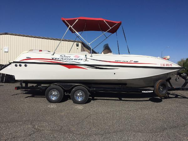 2007 SUN TRACKER PARTY DECK 21 for sale