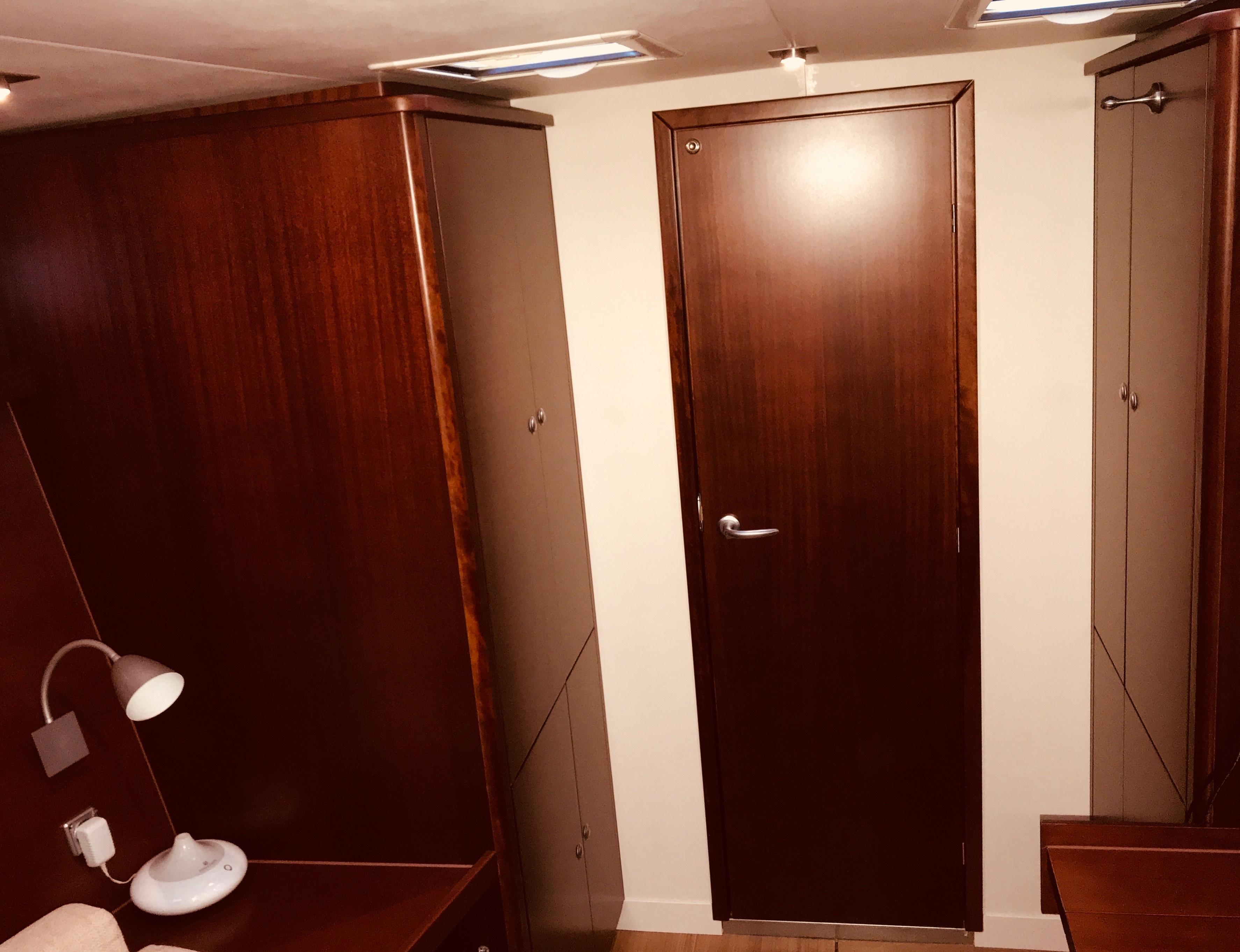 Owner cabin wardrobes