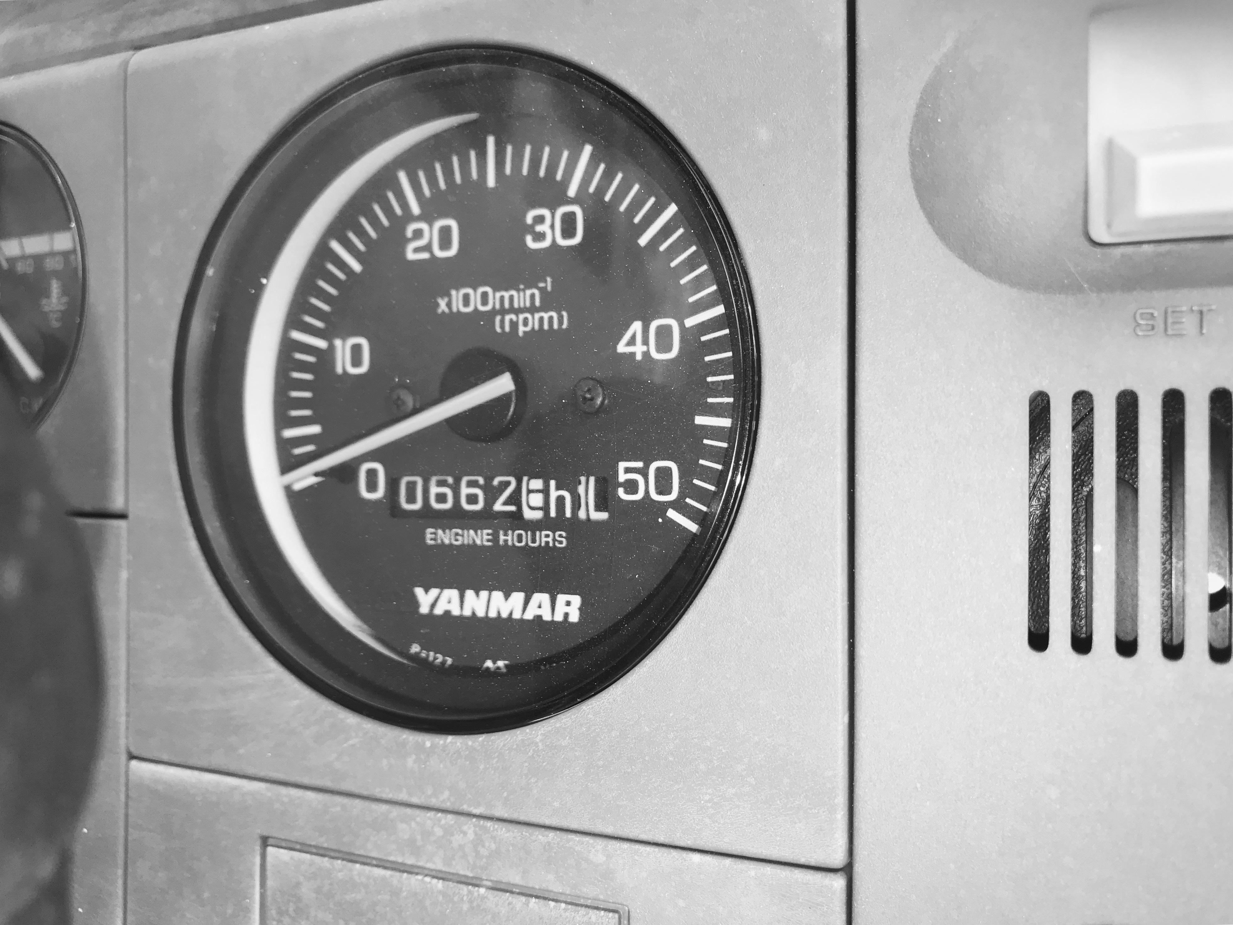 Engine hours December 2017