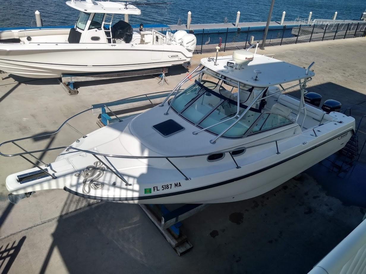 Boston Whaler 28 Conquest Boats For Sale Florida Drawing Schematic Diagram Of Navigation Lamp Wiring On