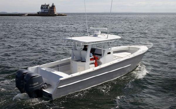 Used 2008 34 39 rock salt aluminum alloy center console for Used center console fishing boats for sale