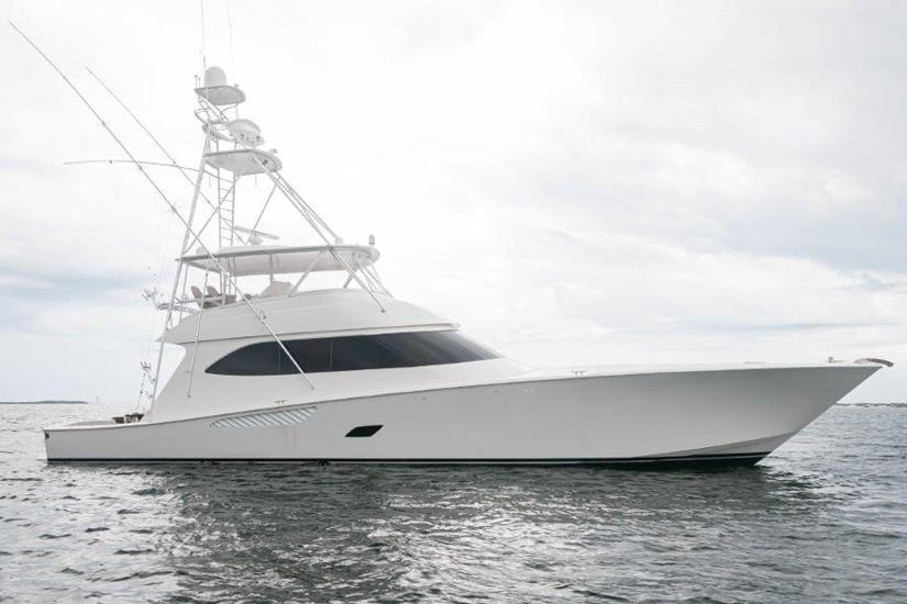2012 Viking 76 Convertible Profile