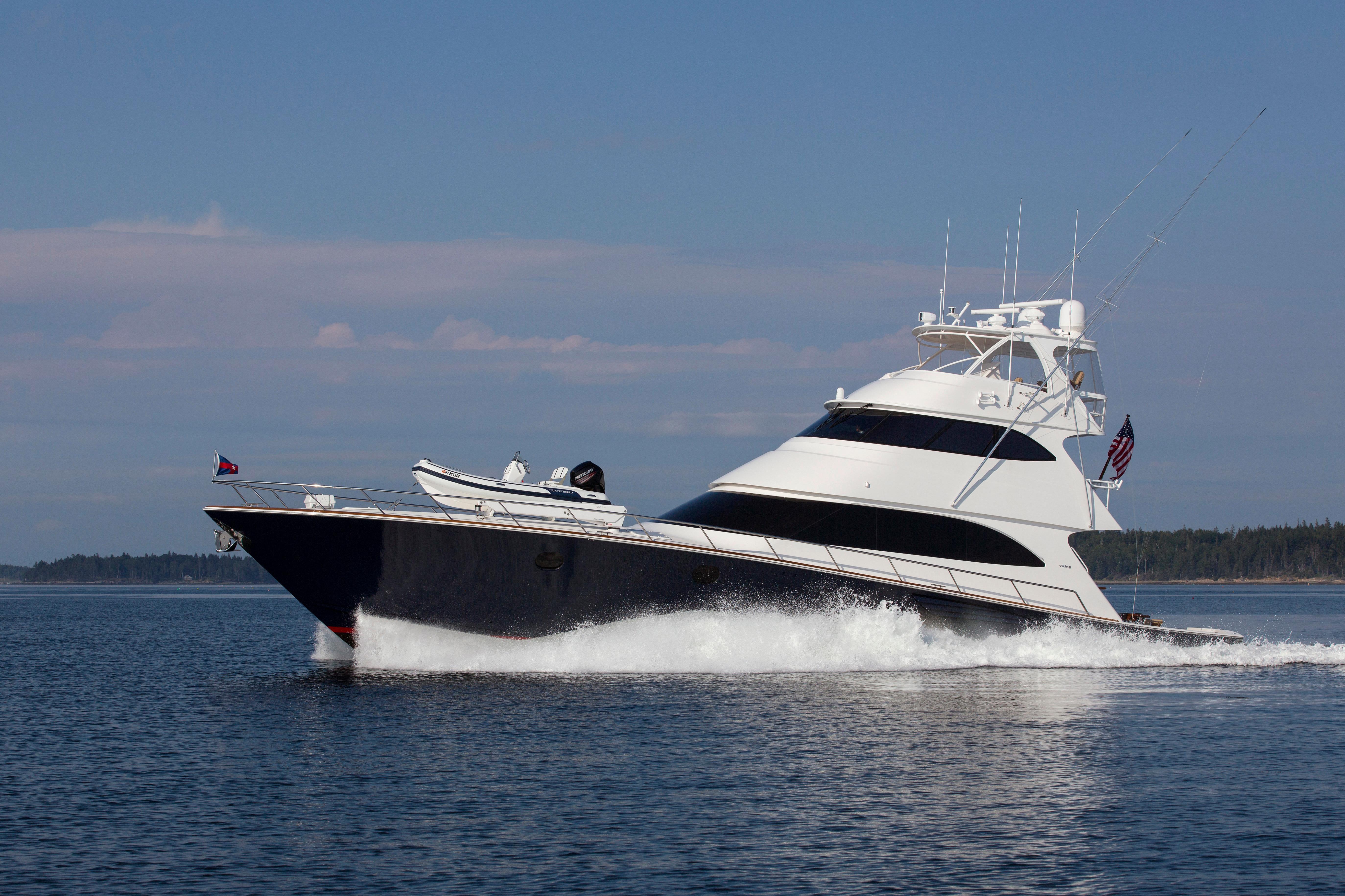 2016 viking 82 39 enclosed bridge for sale galati yacht sales for Viking sport fish