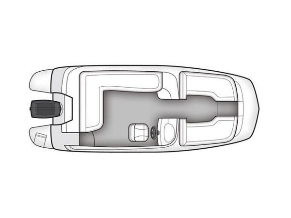 2020 Bayliner boat for sale, model of the boat is 210 Deck Boat & Image # 29 of 33