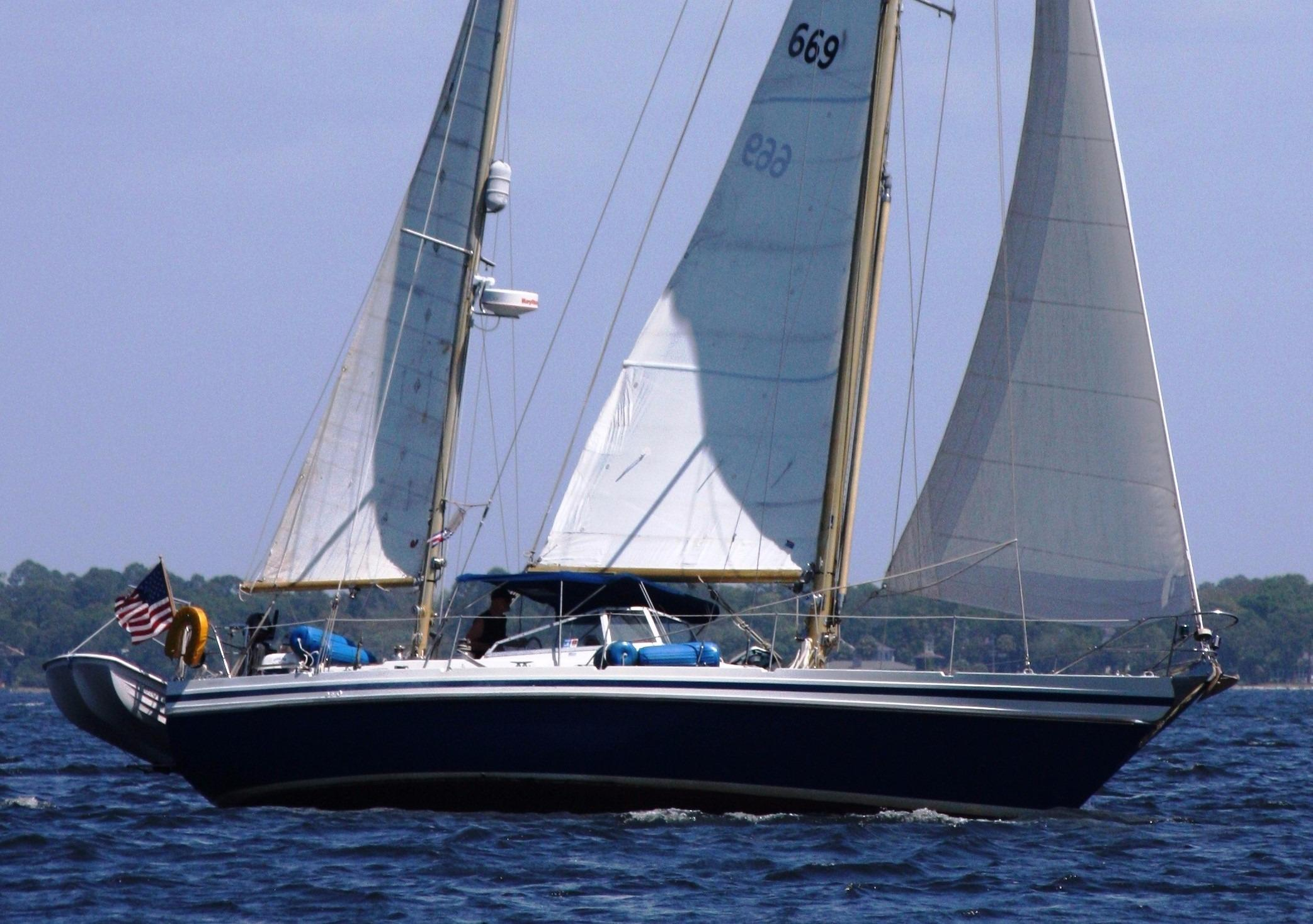 1983 Contest 42 Ketch -Excellent Condition!