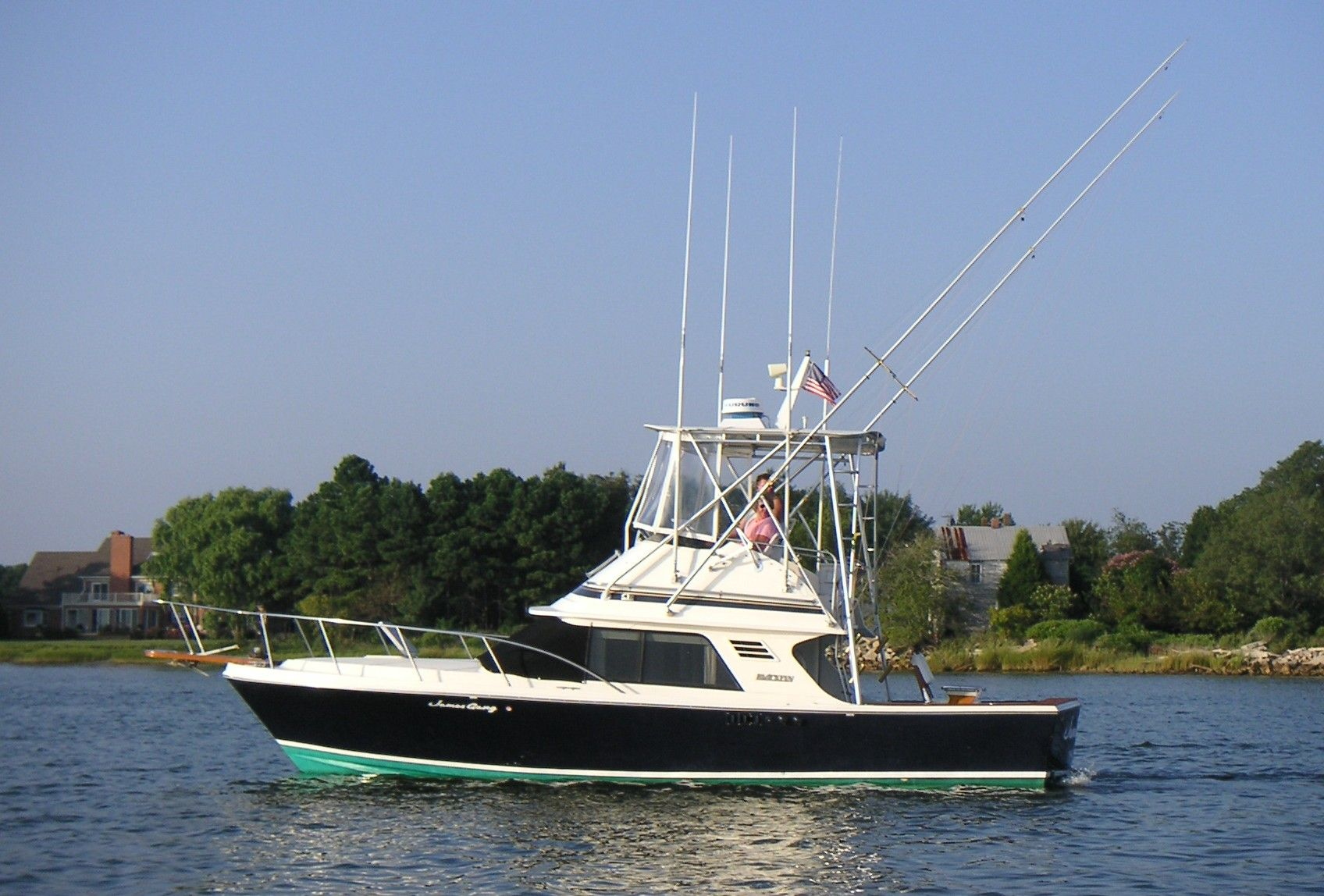 1986 Blackfin 29 Sports Fishing Boat James Gang Hmy Yacht Sales Cruisair Marine Ac Wiring Diagram Convertible