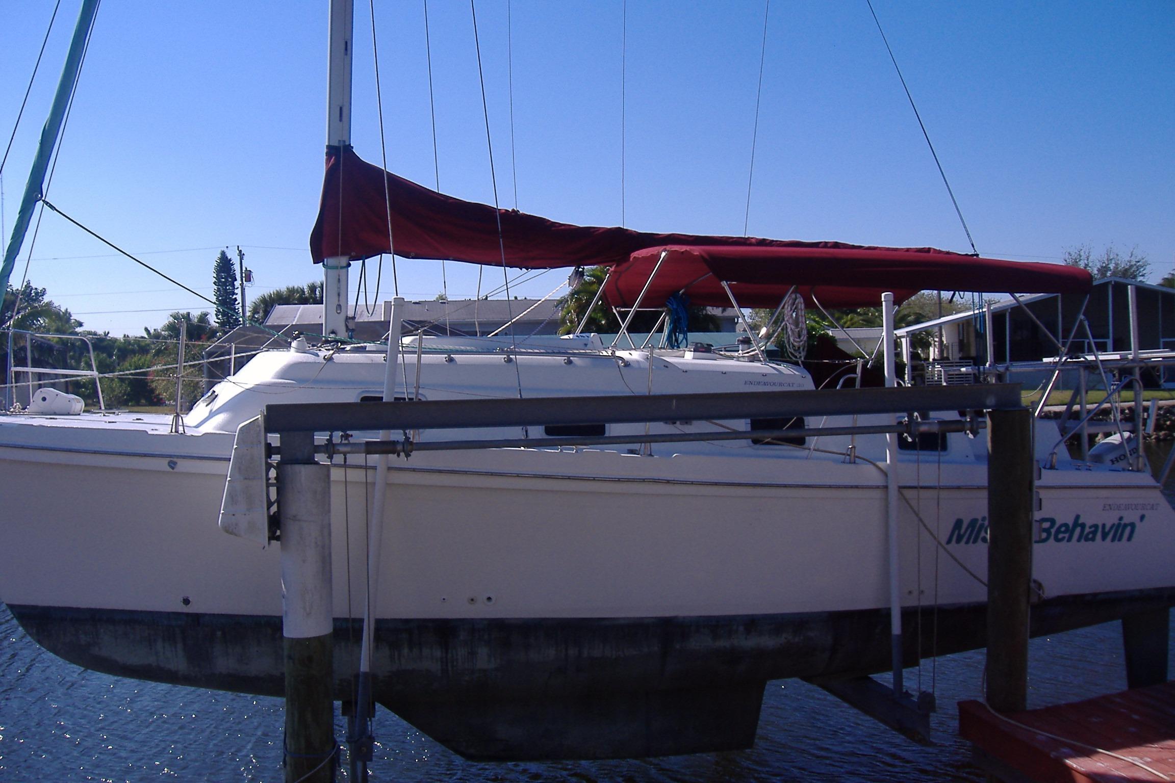 30' Endeavour Catamaran 1992 Endeavourcat 30
