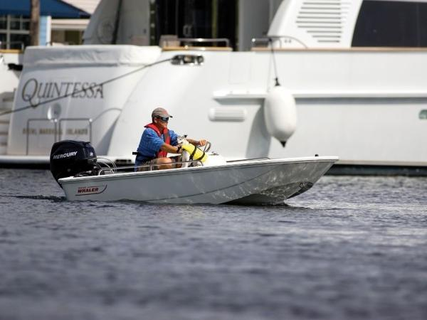 2020 Boston Whaler boat for sale, model of the boat is 110 Sport & Image # 8 of 22