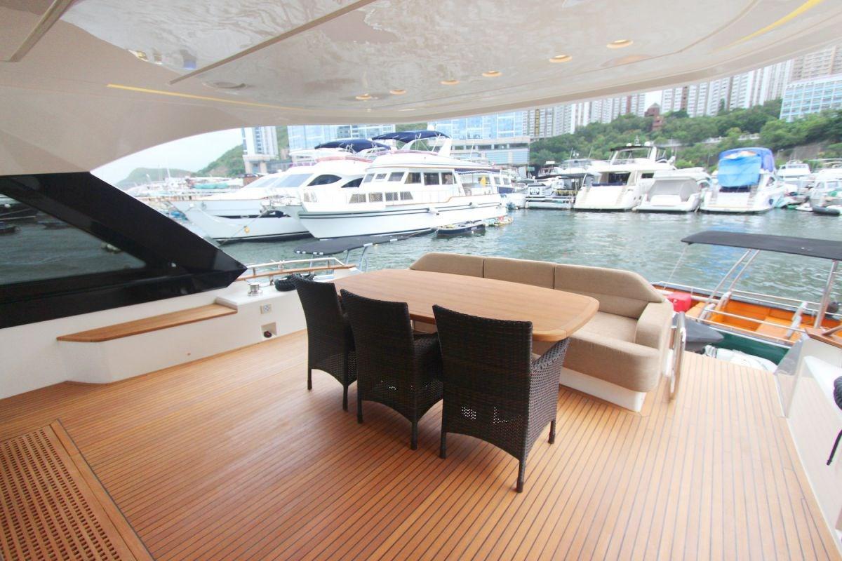 Monte Carlo Yachts 70 Cockpit
