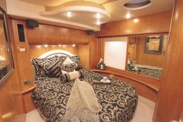 Silverton 48 Convertible - Manufacturer Provided Image: Master Stateroom