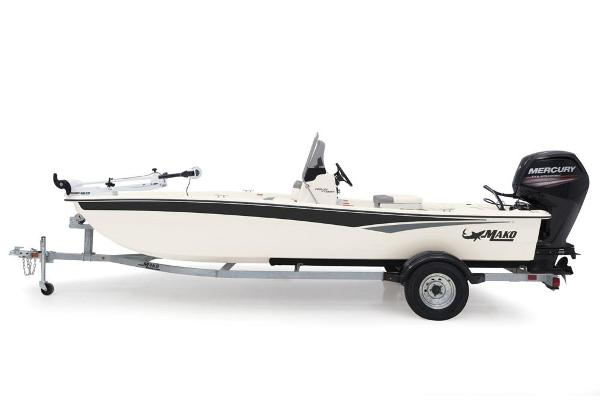 2020 Mako boat for sale, model of the boat is Pro Skiff 17 CC & Image # 10 of 45