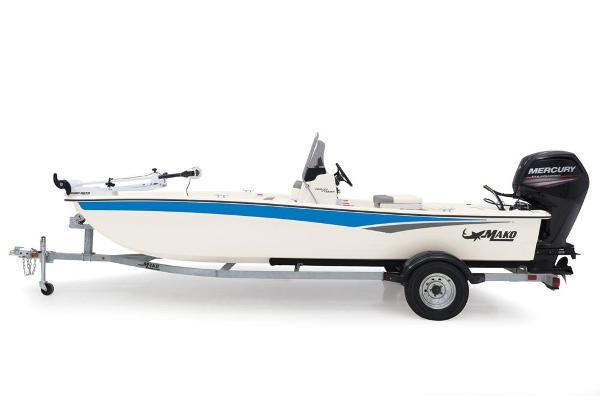 2020 Mako boat for sale, model of the boat is Pro Skiff 17 CC & Image # 12 of 45