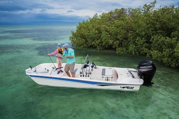 2020 Mako boat for sale, model of the boat is Pro Skiff 17 CC & Image # 13 of 45