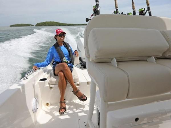 2020 Boston Whaler boat for sale, model of the boat is 240 Dauntless Pro & Image # 39 of 62