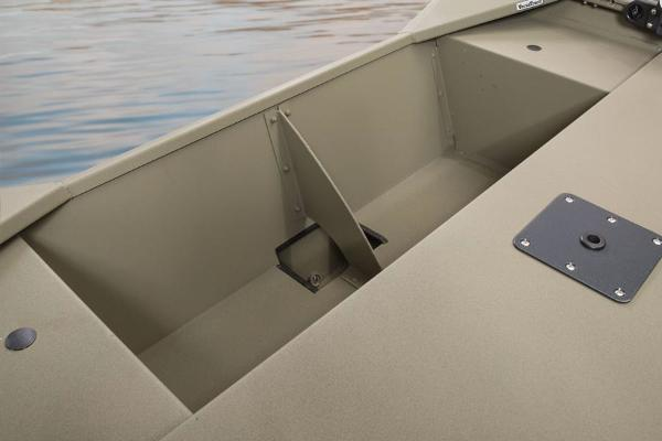 2016 Tracker Boats boat for sale, model of the boat is Grizzly 1448 MVX Jon & Image # 17 of 26