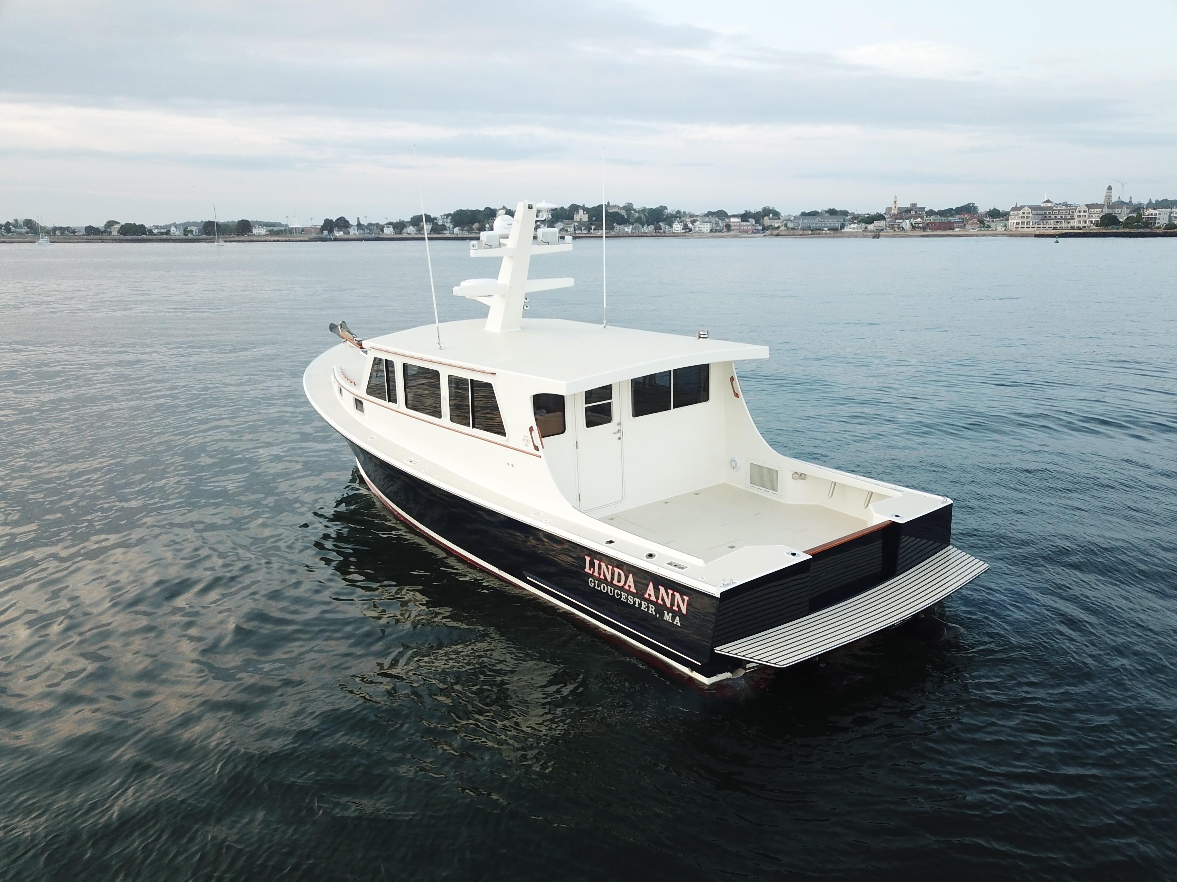 2004 Wesmac 42' Downeast   HMY Yacht Sales