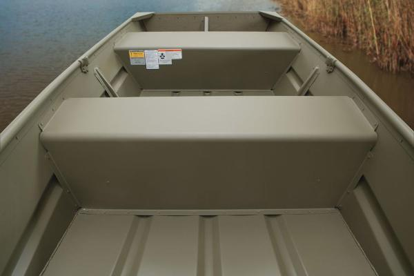 2016 Tracker Boats boat for sale, model of the boat is Topper 1036 Riveted Jon & Image # 3 of 7