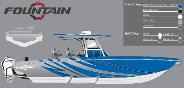 2021 FOUNTAIN 34 SPORT CENTER CONSOLE for sale