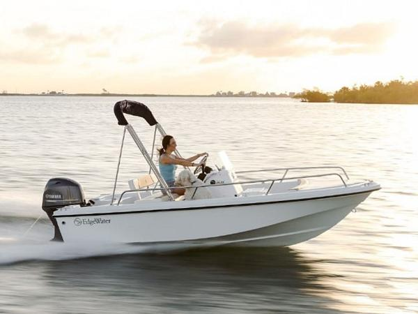 2020 Edgewater boat for sale, model of the boat is 158CS & Image # 1 of 13