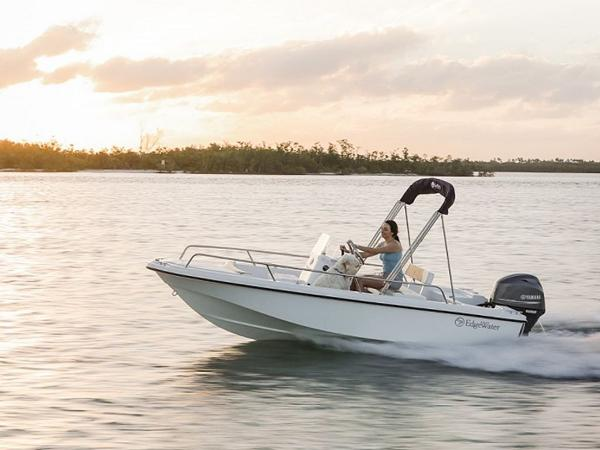 2020 Edgewater boat for sale, model of the boat is 158CS & Image # 3 of 13