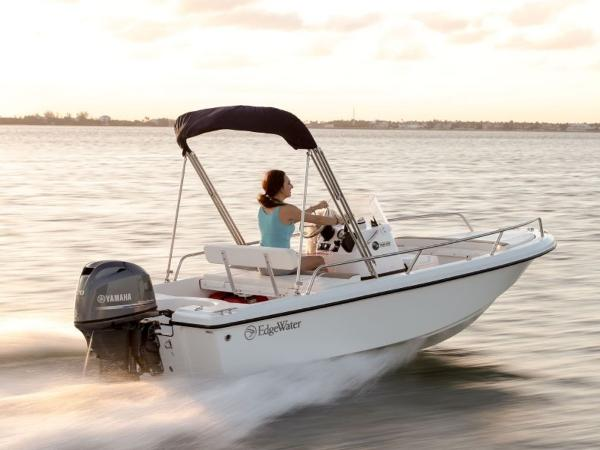 2020 Edgewater boat for sale, model of the boat is 158CS & Image # 4 of 13