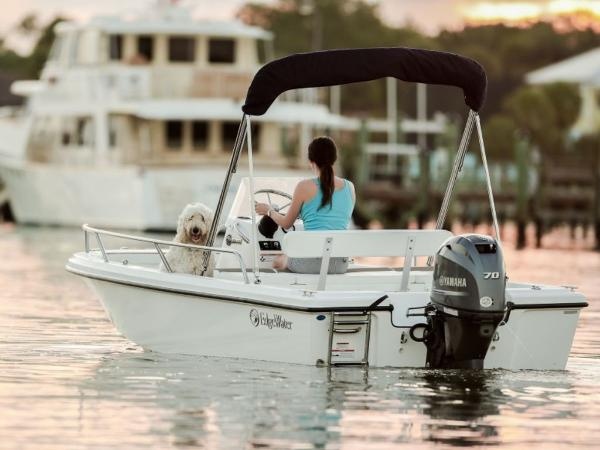 2020 Edgewater boat for sale, model of the boat is 158CS & Image # 7 of 13