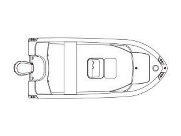 2020 Edgewater boat for sale, model of the boat is 158CS & Image # 10 of 13