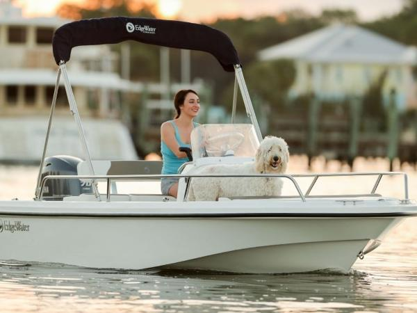 2020 Edgewater boat for sale, model of the boat is 158CS & Image # 12 of 13