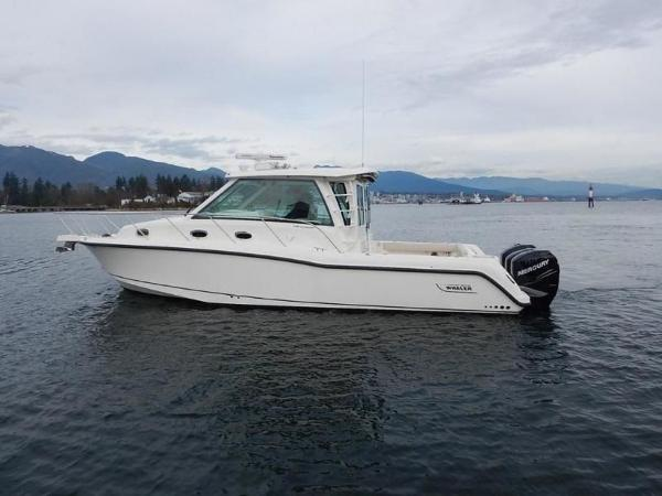 2020 Boston Whaler boat for sale, model of the boat is 345 Conquest Pilothouse & Image # 3 of 31