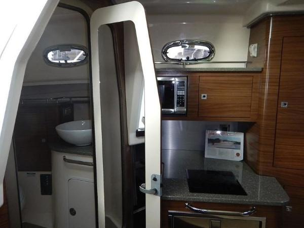 2020 Boston Whaler boat for sale, model of the boat is 345 Conquest Pilothouse & Image # 22 of 31