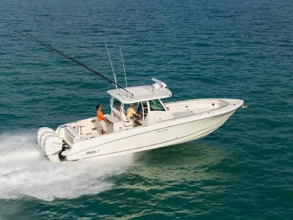 2020 Boston Whaler boat for sale, model of the boat is 350 Outrage & Image # 1 of 37