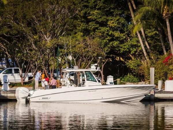 2020 Boston Whaler boat for sale, model of the boat is 350 Outrage & Image # 21 of 37