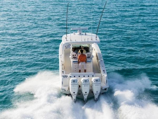 2020 Boston Whaler boat for sale, model of the boat is 350 Outrage & Image # 25 of 37