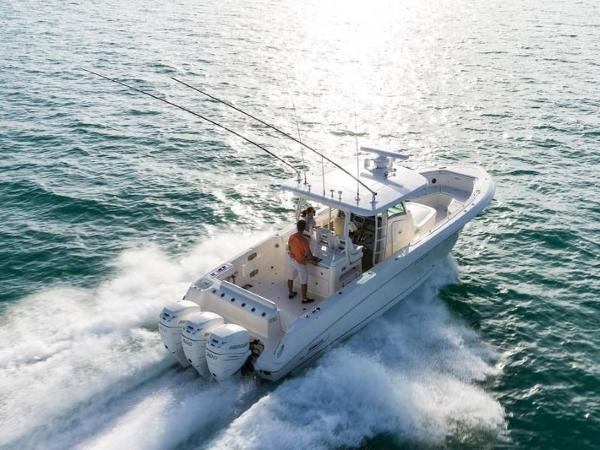 2020 Boston Whaler boat for sale, model of the boat is 350 Outrage & Image # 31 of 37