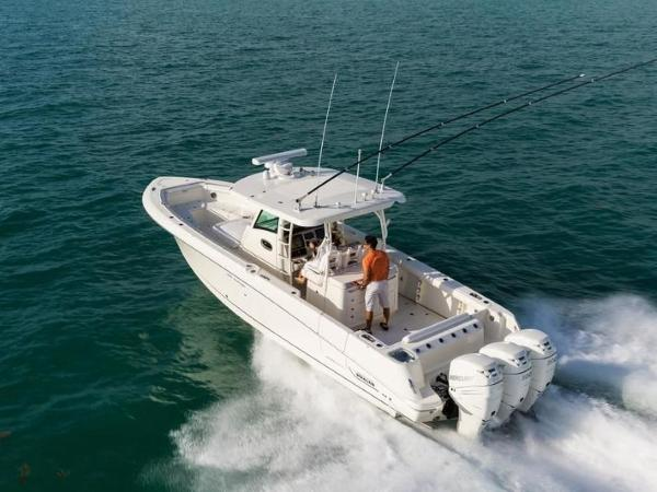 2020 Boston Whaler boat for sale, model of the boat is 350 Outrage & Image # 36 of 37