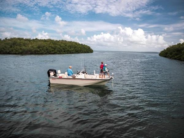2019 Boston Whaler boat for sale, model of the boat is 170 Montauk & Image # 16 of 86
