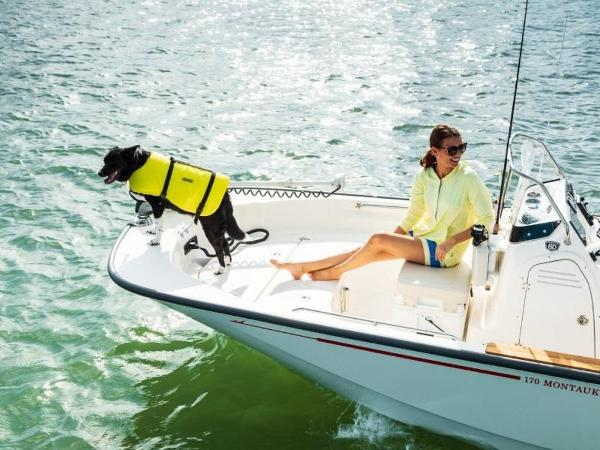 2019 Boston Whaler boat for sale, model of the boat is 170 Montauk & Image # 40 of 86