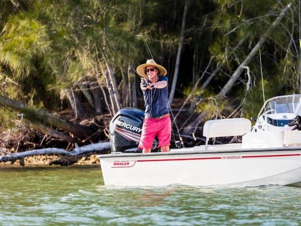 2019 Boston Whaler boat for sale, model of the boat is 170 Montauk & Image # 43 of 86