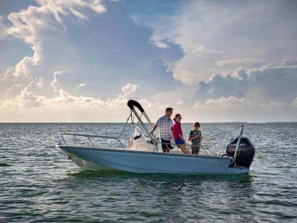 2019 Boston Whaler boat for sale, model of the boat is 170 Montauk & Image # 47 of 86