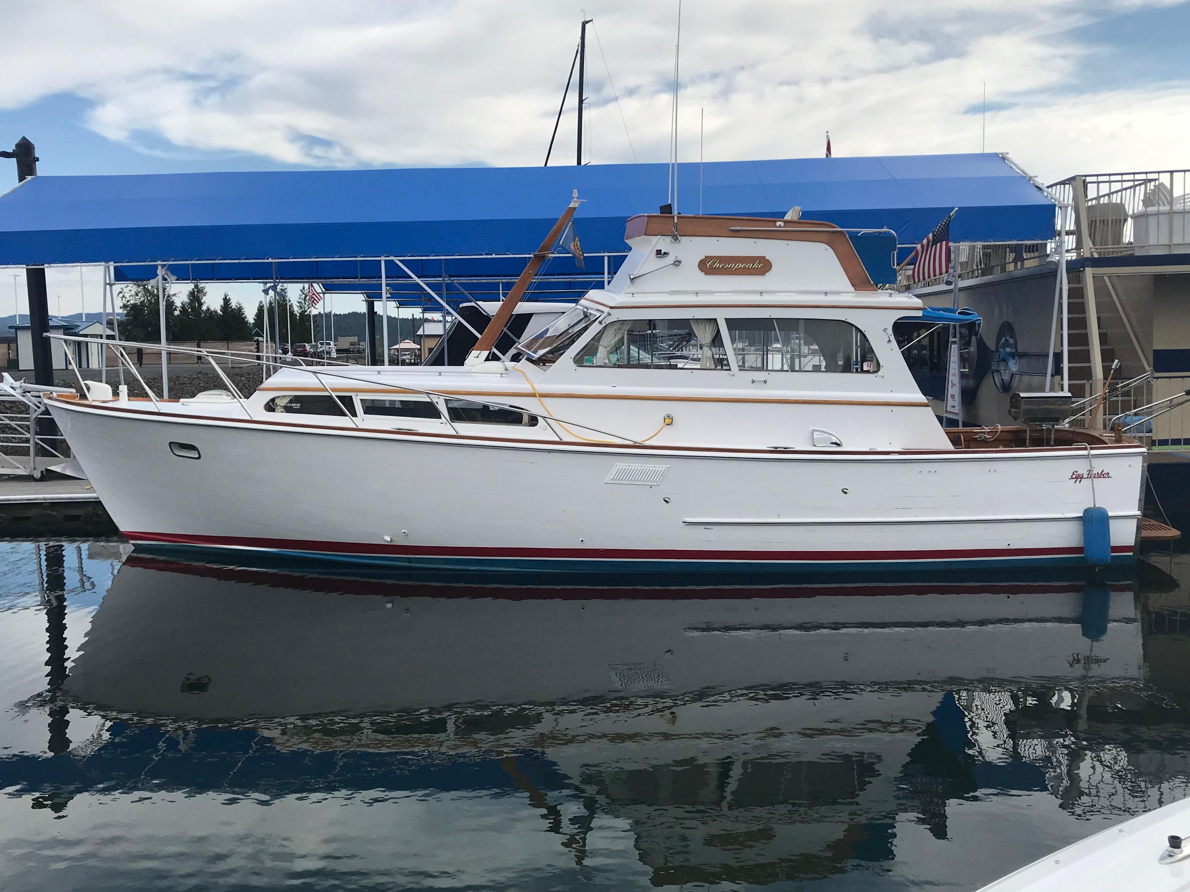 1967 Egg Harbor 37 Vintage Motor Yacht