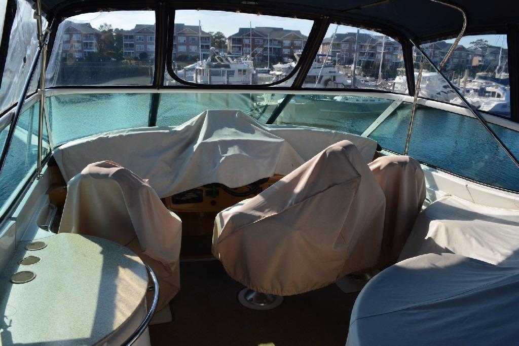 Carver 466 Motor Yacht - Bridge Covers
