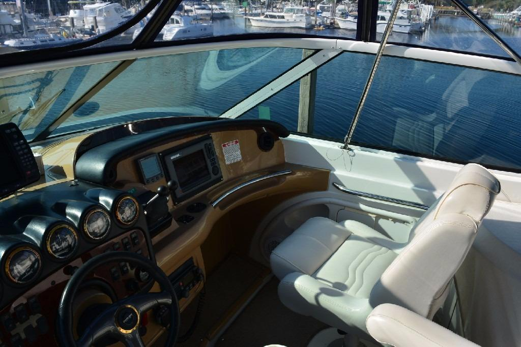 Carver 466 Motor Yacht - Helm to Starboard