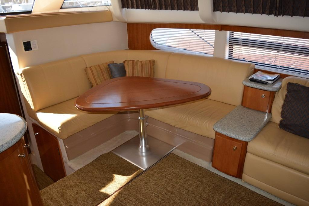 Carver 466 Motor Yacht - High Low Dinette Table