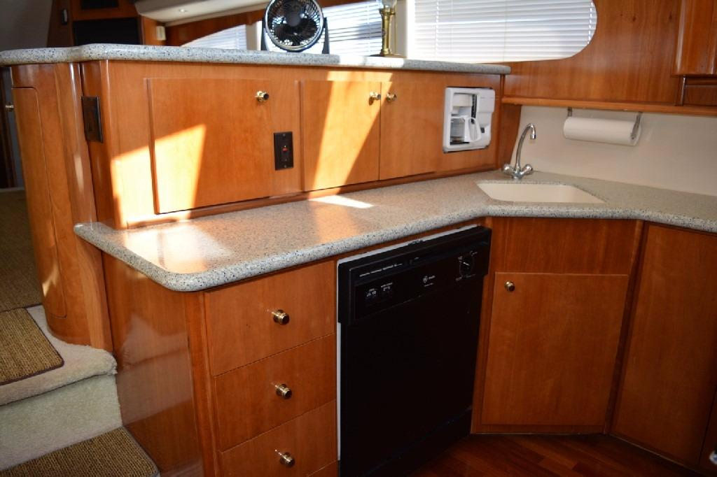 Carver 466 Motor Yacht - Galley 2