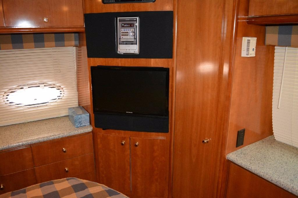 Carver 466 Motor Yacht - Master Entertainment Center