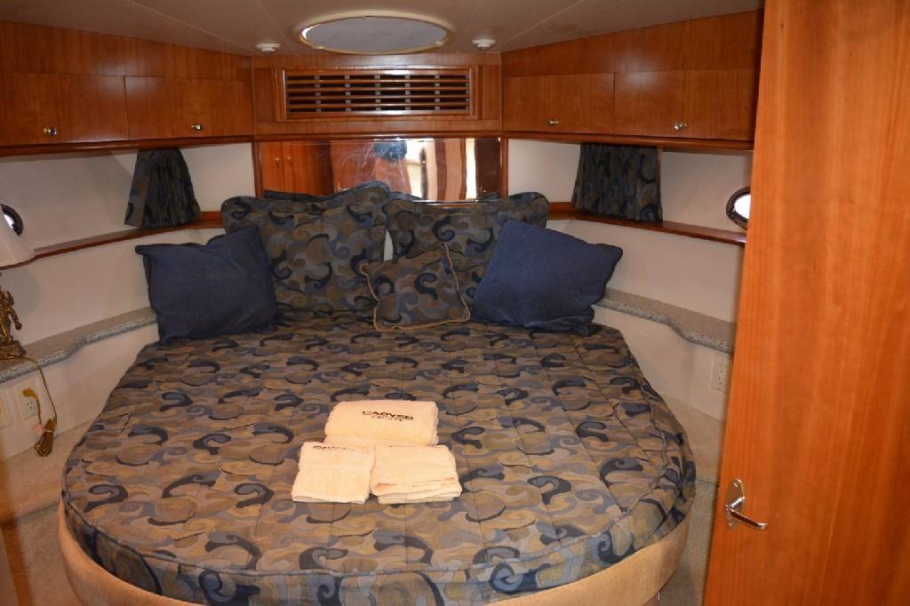 Carver 466 Motor Yacht - Forward VIP