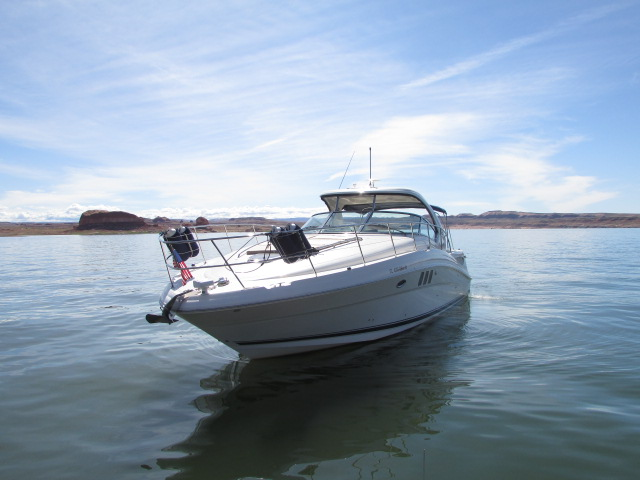 2006 Sea Ray boat for sale, model of the boat is 40 Sundancer & Image # 14 of 35