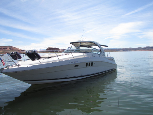 2006 Sea Ray boat for sale, model of the boat is 40 Sundancer & Image # 21 of 35