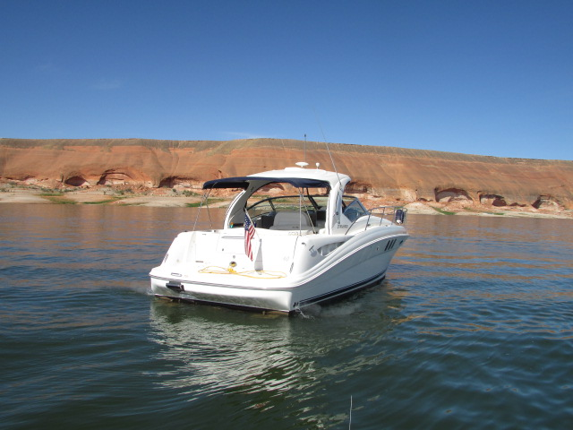 2006 Sea Ray boat for sale, model of the boat is 40 Sundancer & Image # 23 of 35